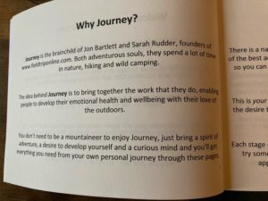 Journey open page